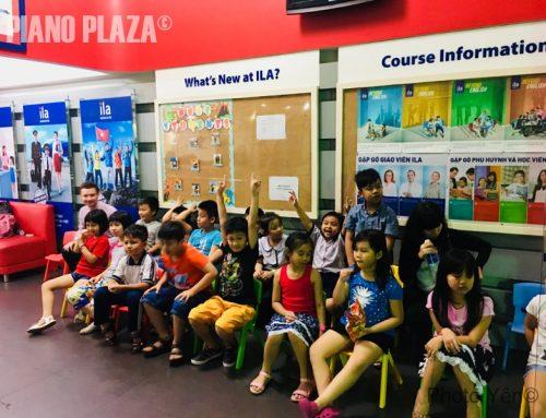 Trường âm nhạc Piano Plaza giao lưu cùng trường anh ngữ ILA ngày phụ nữ Việt Nam 20-10